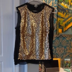 Nanette Lepore sequined top - 8